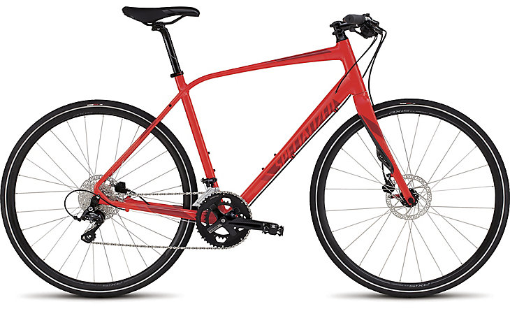 Specialized Sirrus Elite Disc Red 2016